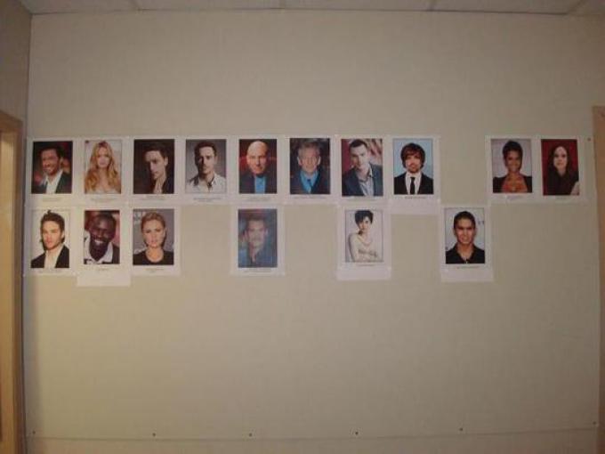 Una visione d'insieme del cast
