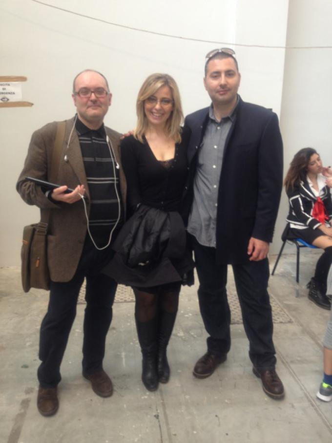 Claudia Graziani, Giuseppe Cozzolino e Andrea Spadano.