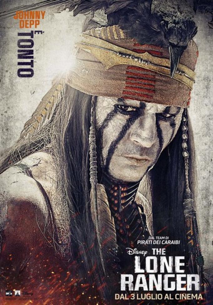 Tonto è un indiano Comanche errante che, cacciato dalla sua tribù, cavalca da solo alla ricerca dei due uomini che hanno causato la rovina del suo villaggio, fino al fatidico incontro con il giovane avvocato ferito John Reid.