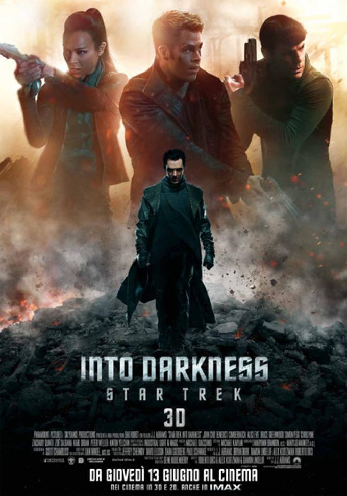 Into Darkness - Star Trek. Locandina italiana