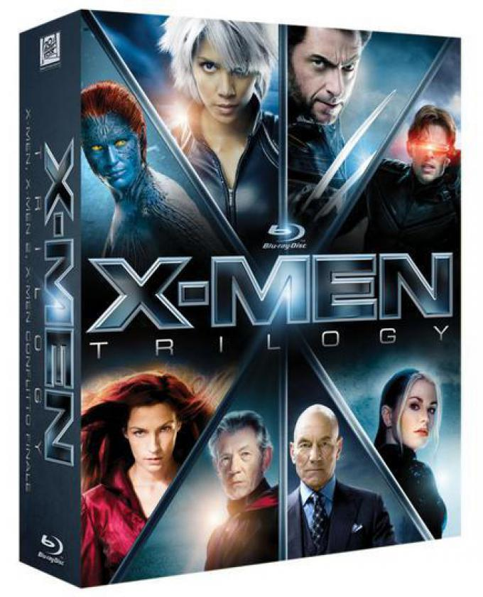 X-Men Trilogy Blu-ray