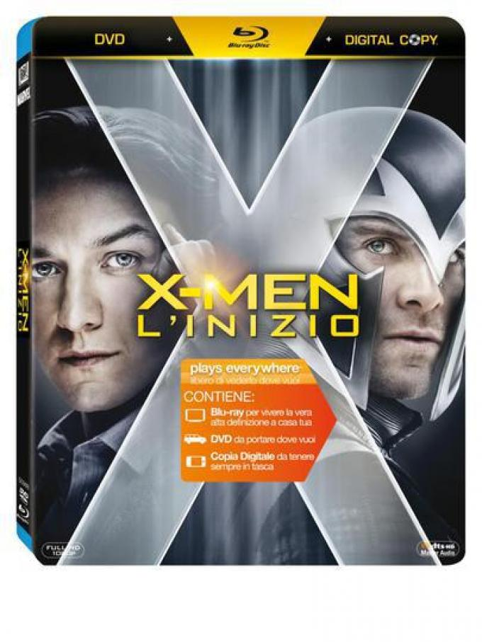 X-Men L'inizio Blu-ray