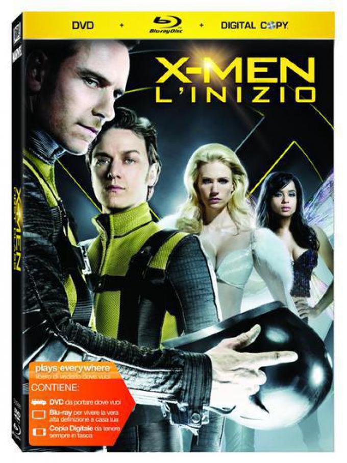 X-Men L'inizio DVD