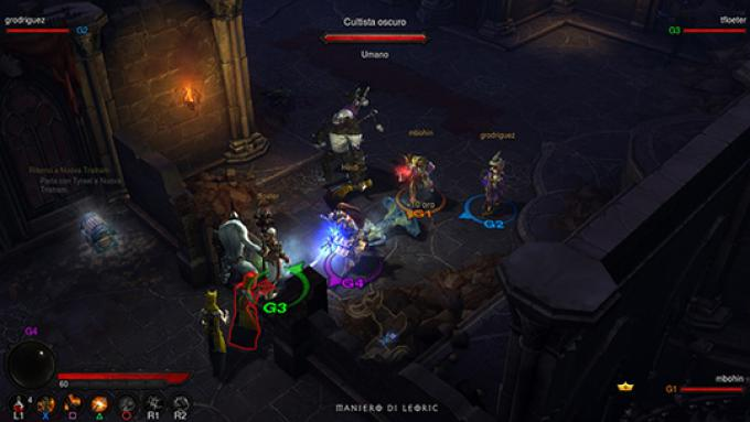 screenshoot - maniero di leoric