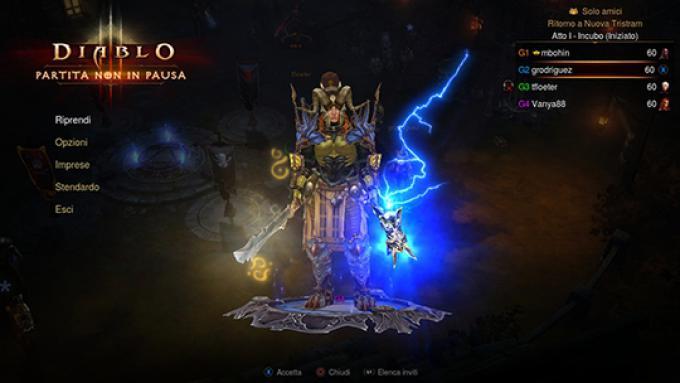 screenshoot - un pg di Diablo III