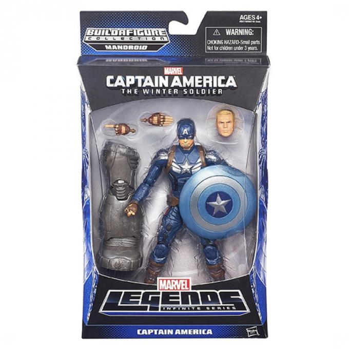 Il box di Captain America e accessori