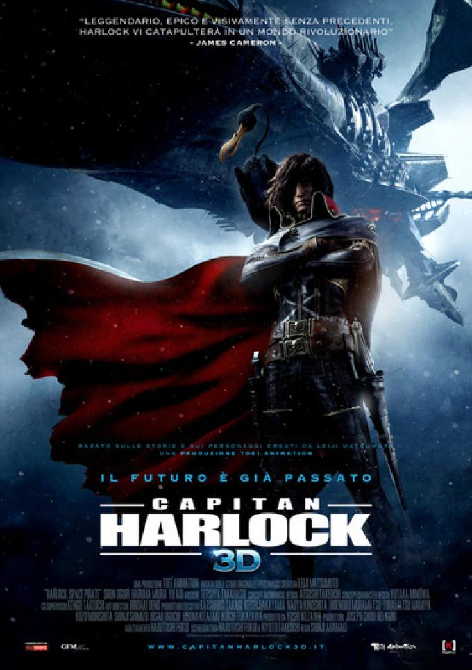 Locandina di Capitan Harlock 3D