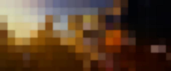 LEGO® minifigures Emmet (voiced by CHRIS PRATT) and Wyldstyle (ELIZABETH BANKS)