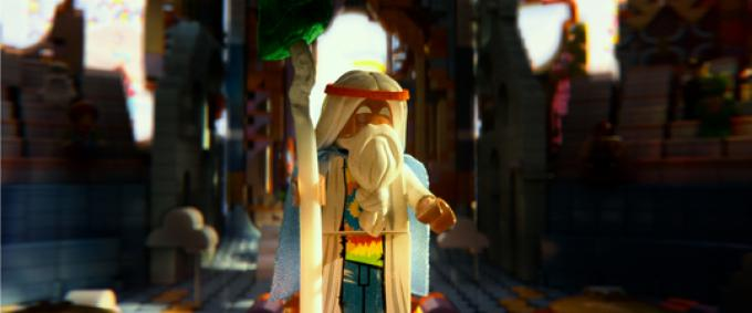 LEGO® minifigure Vitruvius (voiced by MORGAN FREEMAN)