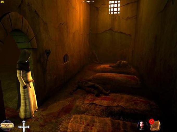 Screenshot da Nicolas Eymerich, Inquisitore - Parte II: Il villaggio