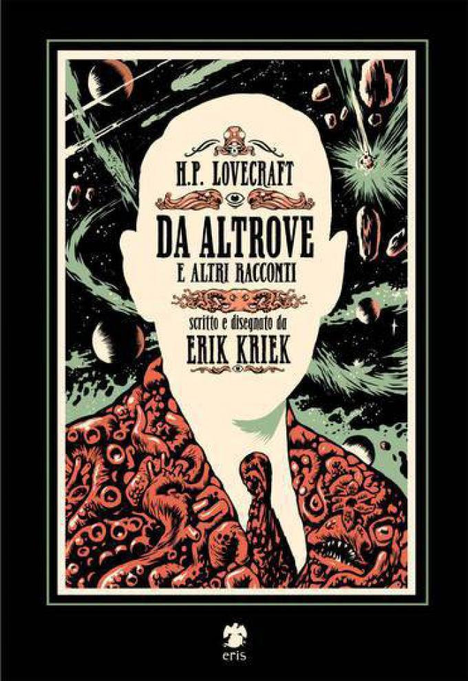 H.P. Lovecraft - Da altrove e altri racconti - Copertina di Erik Kriek