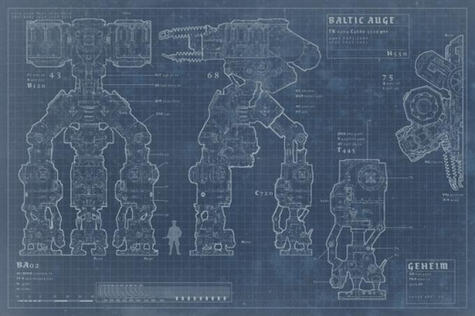 Wolfenstein The New Order: Baltic monitor