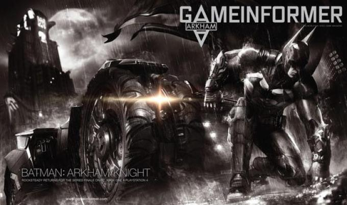 Batman: Arkham Knight. Concept art.