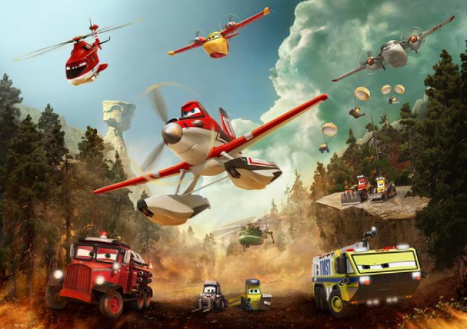Fotogramma da Planes 2 - Missione Antincendio