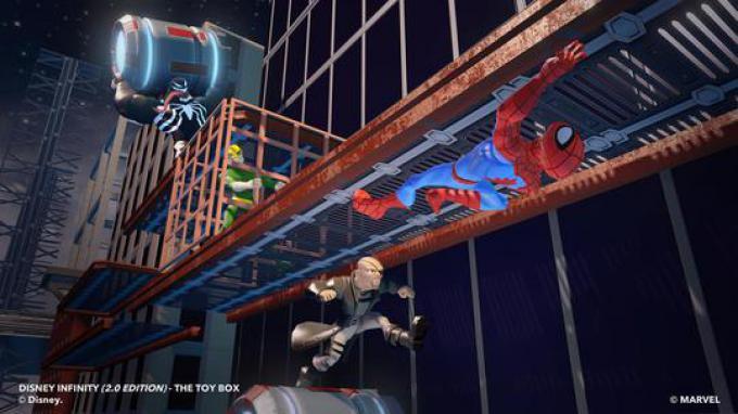 SpiderMan ToyBox 5