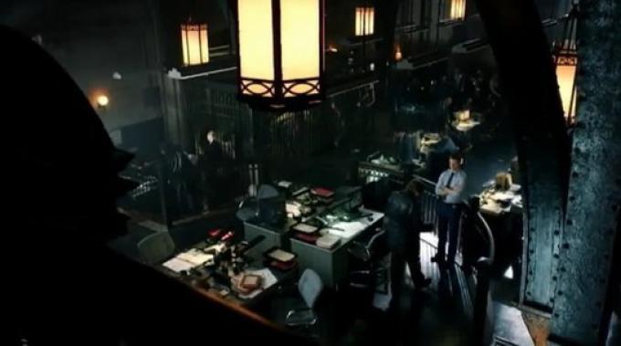 La sede del dipartimento di polizia di Gotham City