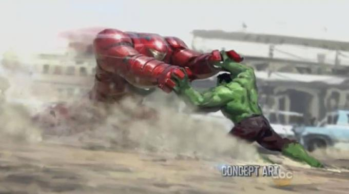 Avengers: Age of Ultron - Hulk vs Iron Man
