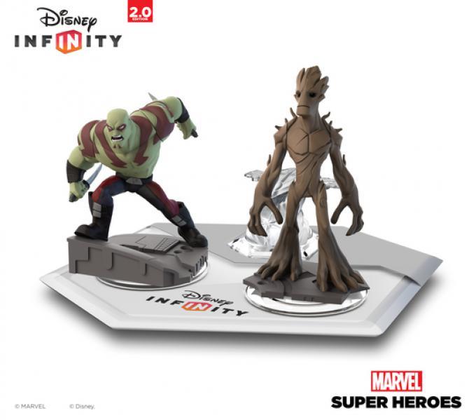 Drax e Groot