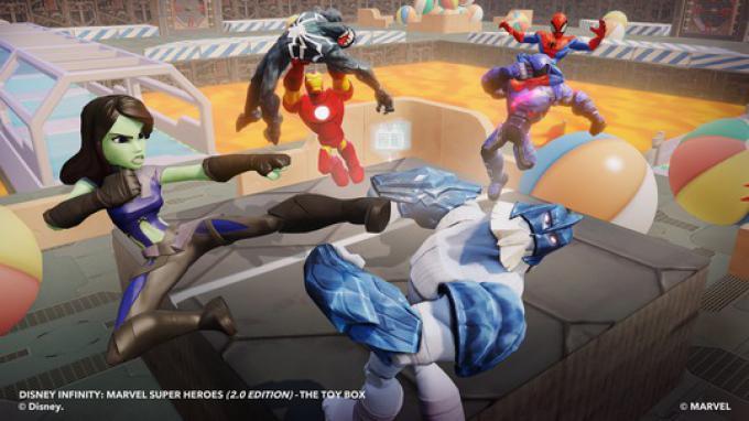 I Guardiani della Galassia nella Toy Box