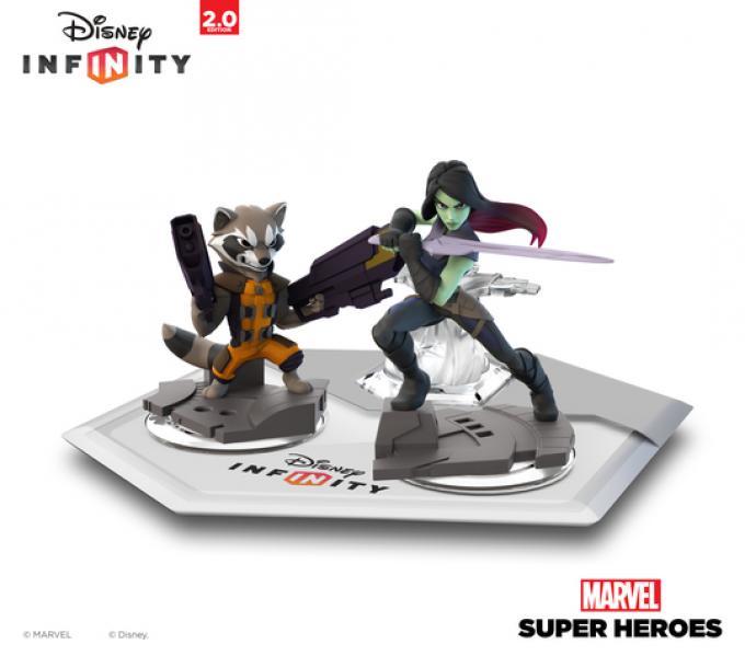Rocket Raccon e Gamora