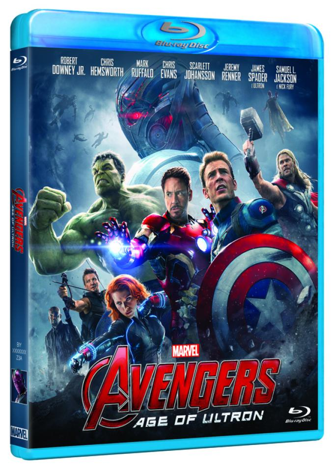 Avengers: Age of Ultron - Blu-ray