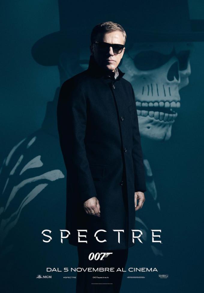 L'attore, due volte Premio Oscar®, Christoph Waltz interpreta un personaggio enigmatico e raccapricciante: Oberhauser, il capo dell'organizzazione Spectre