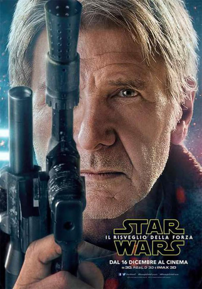 Harrison Ford alias Han Solo