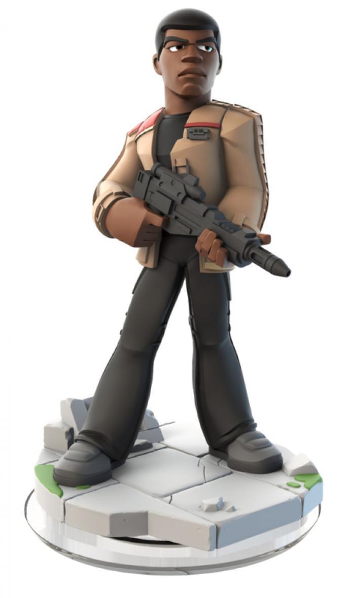 Il personaggio di Finn in versione Disney Infinity