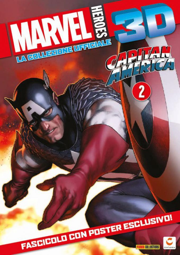Marvel Heroes 3D: Capitan America