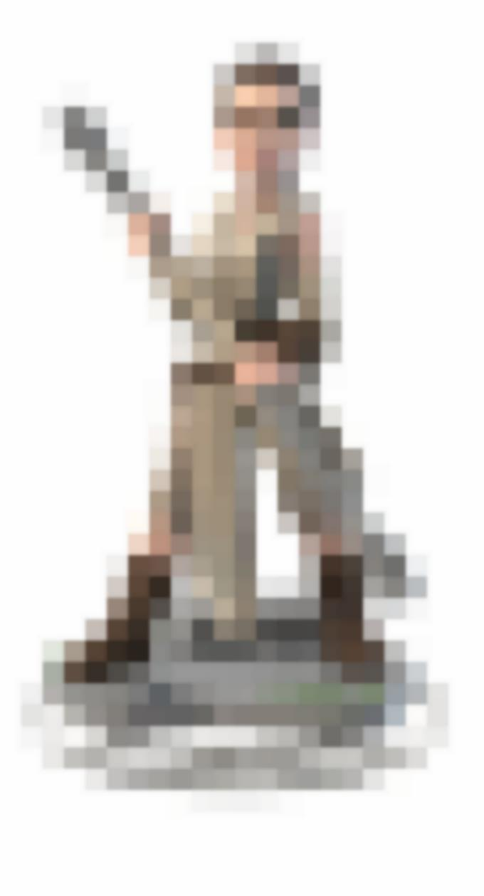 Il personaggio di Rey in versione Disney Infinity