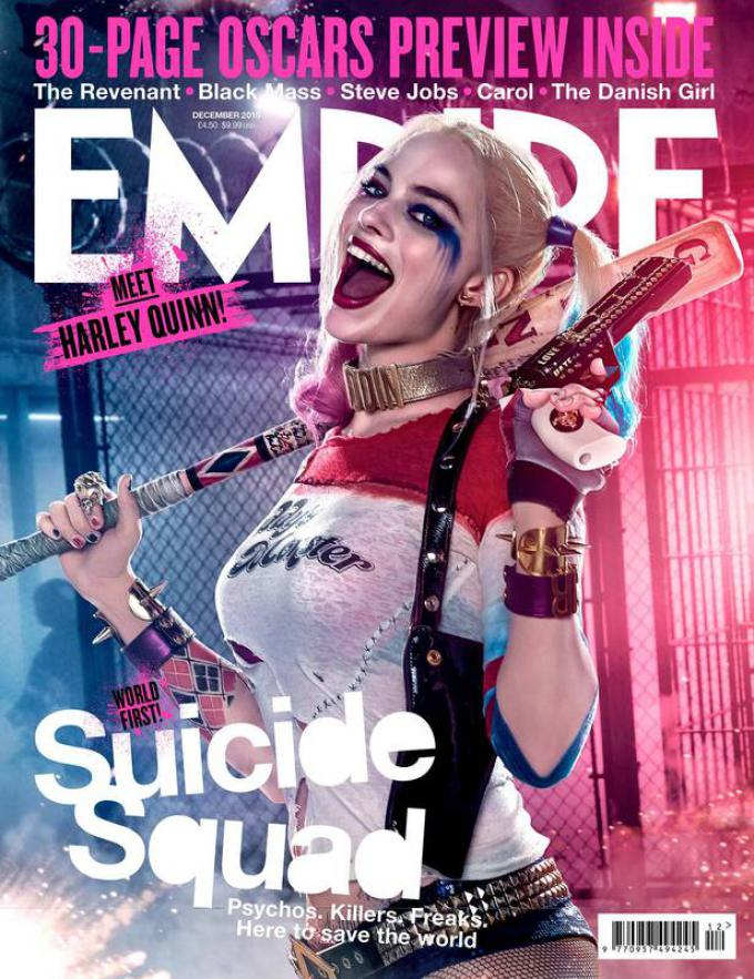 La variant cover con Harley Quinn (Margot Robbie)