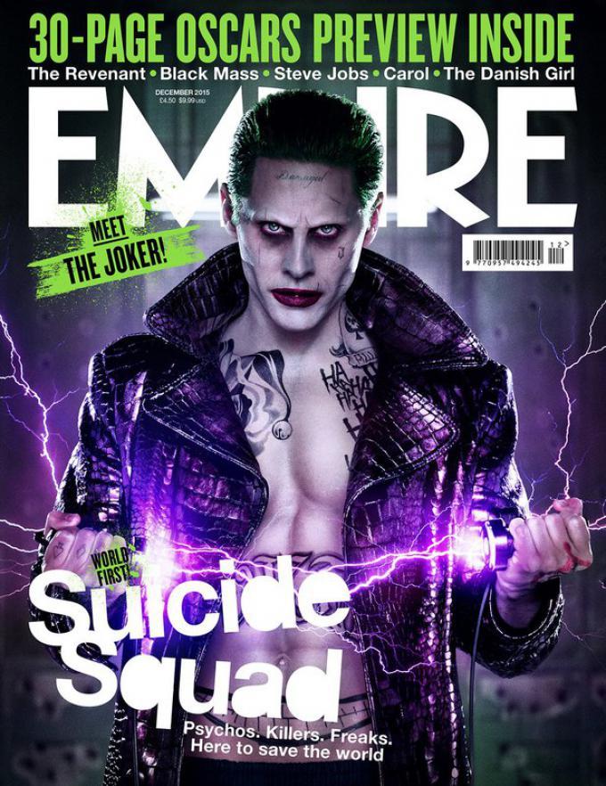 La variant cover con il Joker (Jared Leto)
