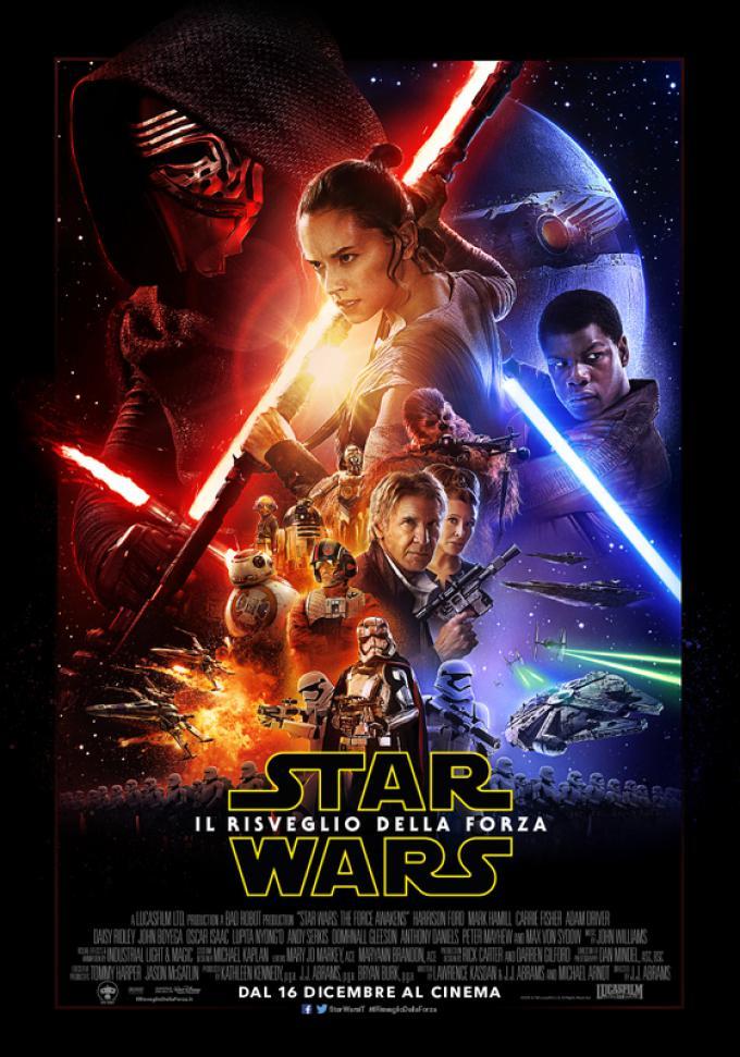 Star Wars: il risveglio della Forza - Poster verticale italiano