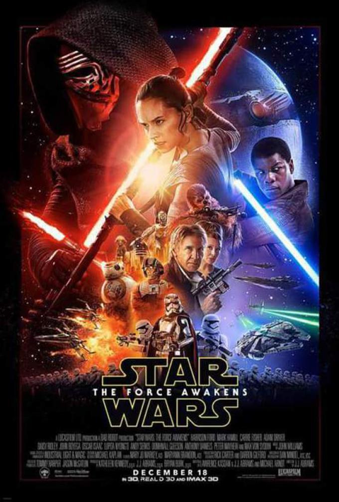 Star Wars: il risveglio della Forza - Poster verticale internazionale
