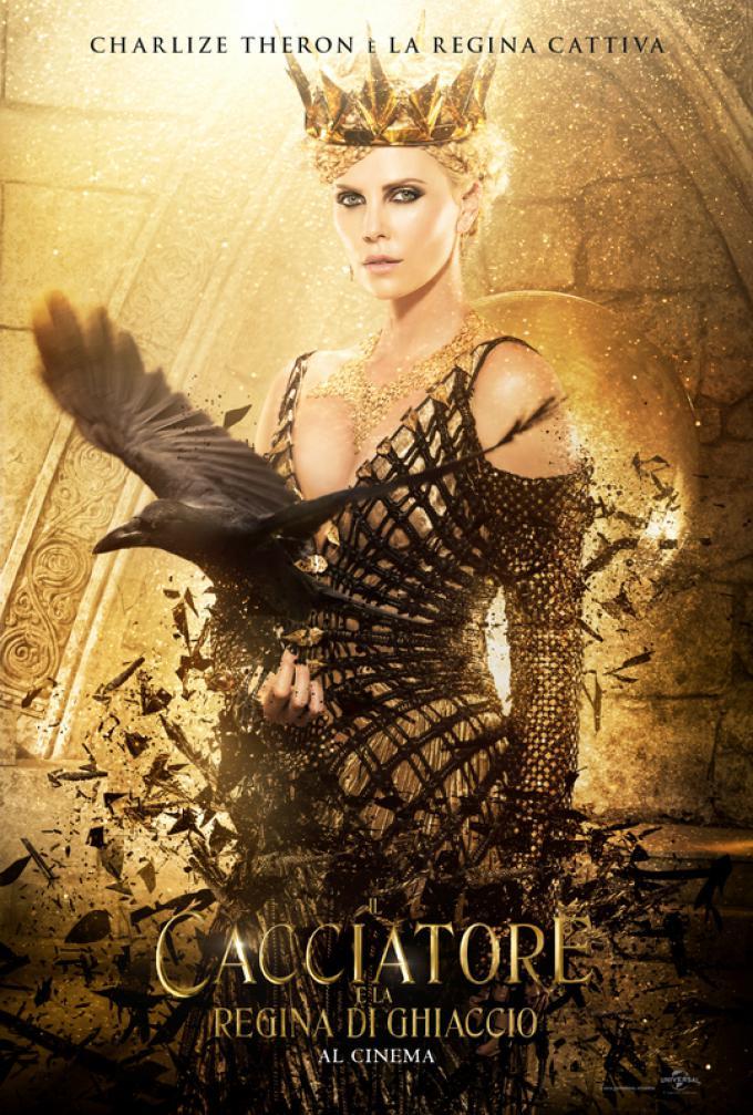 Charlize Theron è la Regina Cattiva