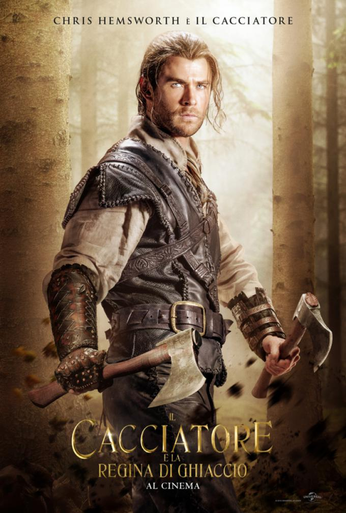 Chris Hemsworth è il Cacciatore