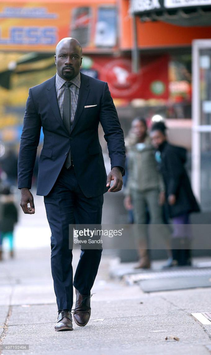 Mike Colter è Luke Cage - Foto di Steve Sands per Getty Images
