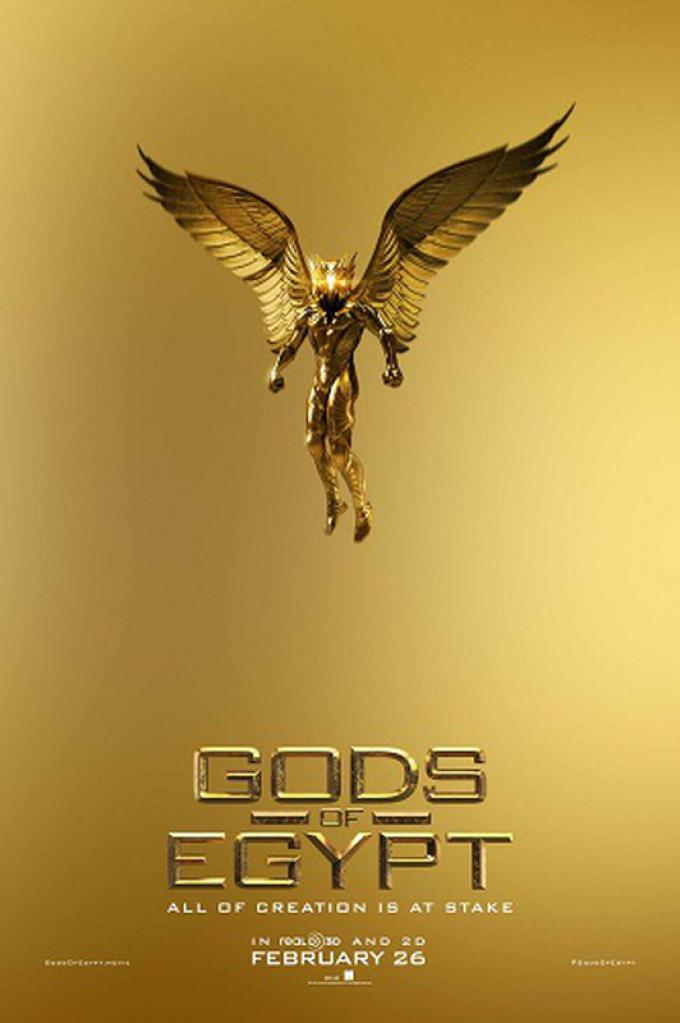 Gods of Egypt - poster ufficiale