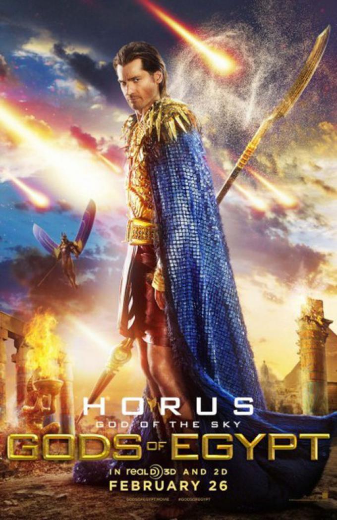 Nikolaj Coster-Waldau è Horus, il dio del cielo