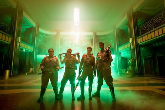 Il cast di Ghostbusters