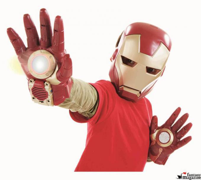 Guanti e Maschera Iron Man