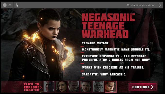 scheda biografica di Negasonic Teenage Warhead