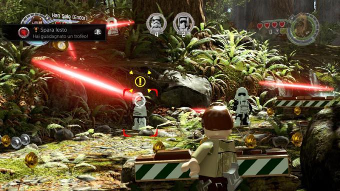 Han Solo in azione