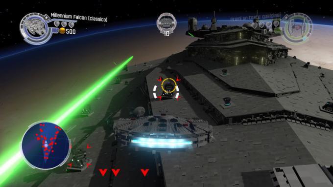 Millenium Falcon in battaglia
