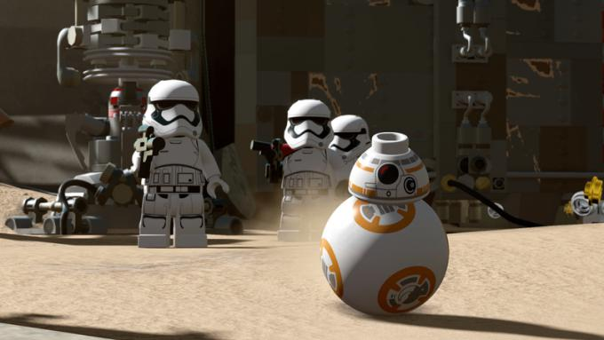 BB8 versione LEGO