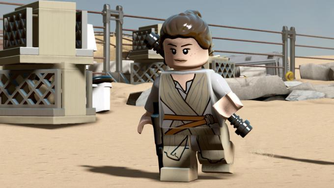 Rey nella versione LEGO