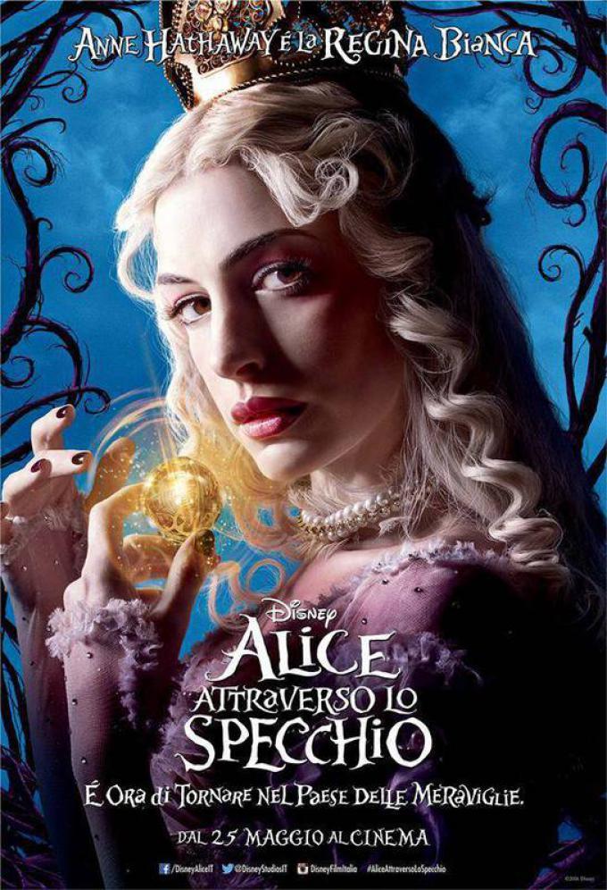Anne Hathaway è la Regina Bianca