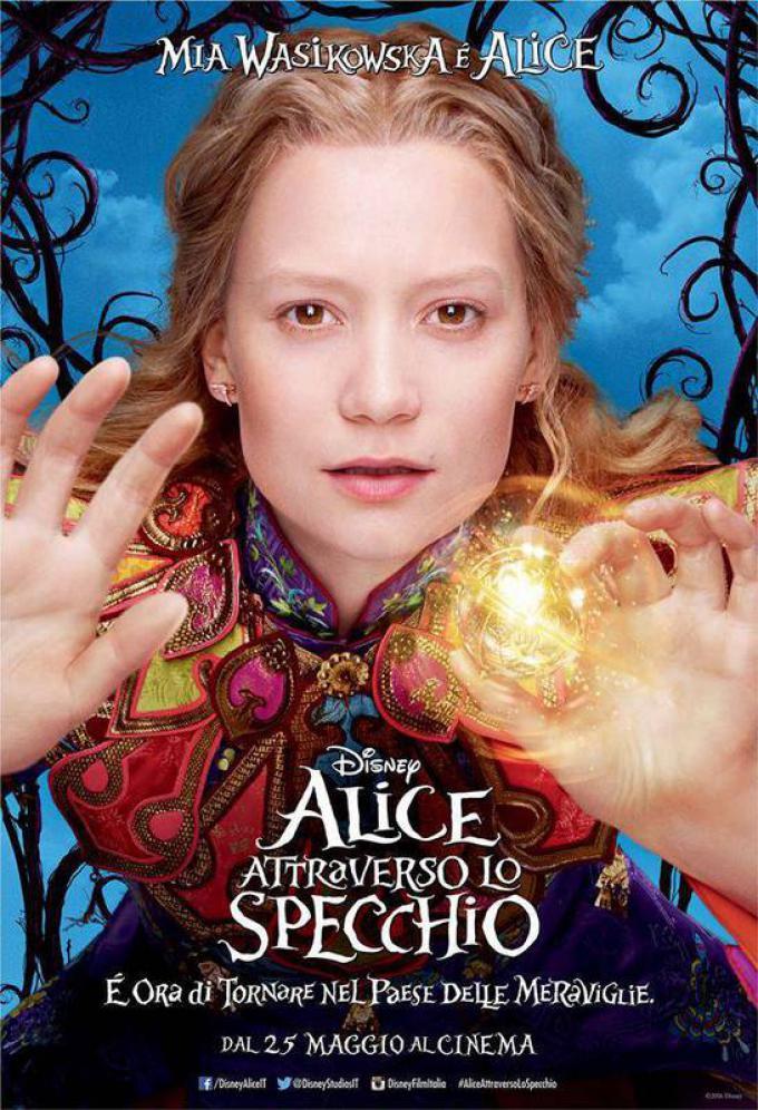 Mia Wasikowska è Alice