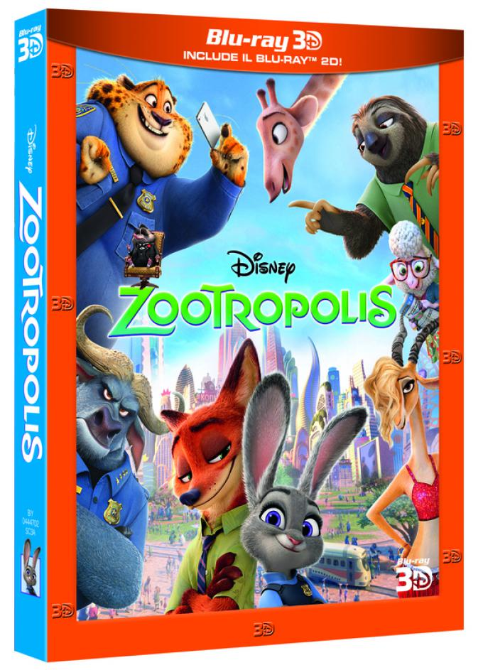 Zootropolis in Blu-ray 3D