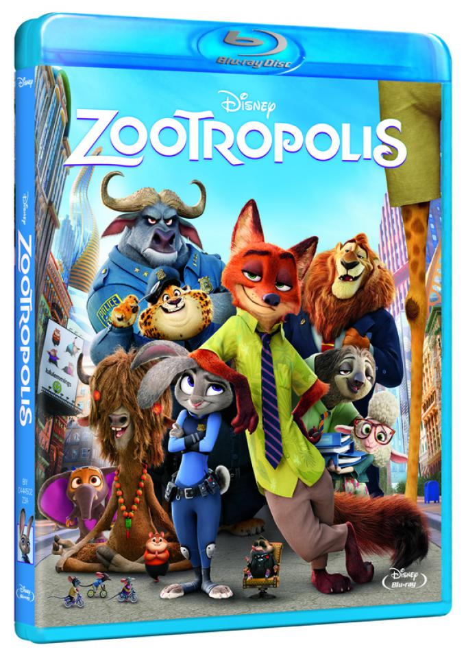 Zootropolis in Blu-ray